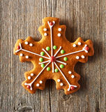 Christmas homemade gingerbread cookie Stock Photo