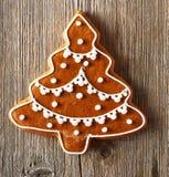 Christmas homemade gingerbread cookie Stock Photos