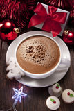 Christmas Hot Chocolate Stock Image