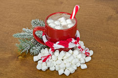Christmas Hot Chocolate Royalty Free Stock Photo