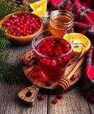 Christmas hot mulled wine Royalty Free Stock Photography