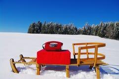 Christmas hotline Royalty Free Stock Photo