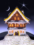 Christmas house Royalty Free Stock Photo