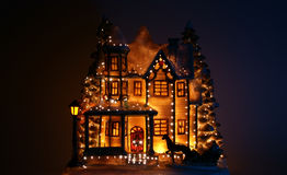 Christmas house Royalty Free Stock Image