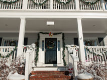Christmas House Stock Photo