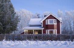 christmas house Στοκ εικόνες με δικαίωμα ελεύθερης χρήσης