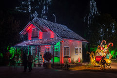 Christmas House Gramado Brazil Royalty Free Stock Photos