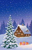 Christmas house Stock Photos