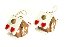 Christmas houses Stock Photography