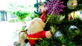 Christmas at Hue Riverside Boutique Resort & Spa Stock Image