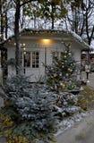 CHRISTMAS I TIVOLI GARDEN Royalty Free Stock Photos