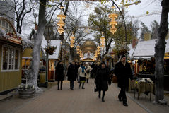 CHRISTMAS I TIVOLI GARDEN Stock Photography