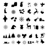 Christmas icon Stock Image