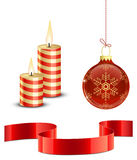 Christmas icon set Stock Photos