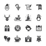 Christmas icon set 7, vector eps10 Royalty Free Stock Photography