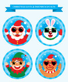 Christmas Icon Sets Royalty Free Stock Photography