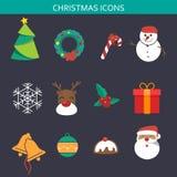 Christmas Icon Sets Royalty Free Stock Photo