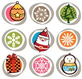 Christmas Icon Symbol Royalty Free Stock Images
