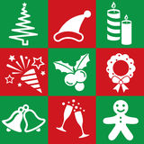 Christmas icon Royalty Free Stock Images