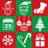 Christmas icon stock illustration
