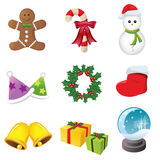 Christmas Icons. Web Icons -- for your website, powerpoint, leaflet etc Stock Photo