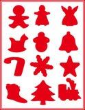 Christmas icons. stock photos