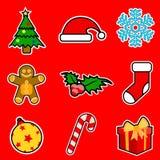 Christmas Icons Stock Photo
