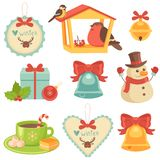 Christmas Icons Collection Stock Images