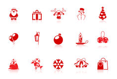 Christmas icons | Piccolo series Royalty Free Stock Photos