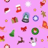 Christmas icons Set stock illustration