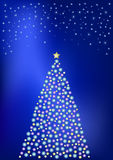 Christmas illumination Stock Images