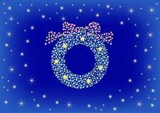 Christmas illumination Stock Image