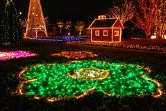 Christmas Illumination Royalty Free Stock Image