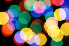 Christmas illumination Royalty Free Stock Photo