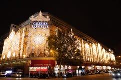 Christmas illuminations Stock Images