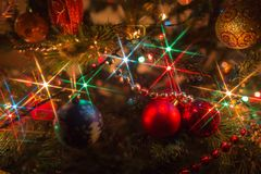Christmas illuminations Royalty Free Stock Image