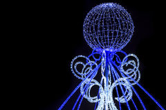 Christmas illuminations Royalty Free Stock Images