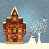 Christmas illustartion Stock Photos
