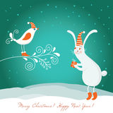 Christmas illustration Royalty Free Stock Photography