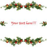 Christmas illustration. New year and christmas illustration vector illustration