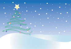 Christmas illustration Royalty Free Stock Images