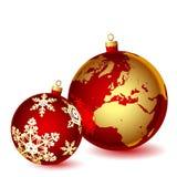 Christmas illustration. Royalty Free Stock Image