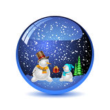 Christmas illustration. Royalty Free Stock Photos