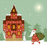 Christmas illustration Stock Photo