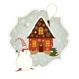 Christmas illustration Stock Photography