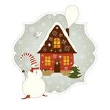 Christmas illustration Stock Photography