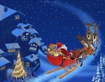 Christmas illustration Stock Image