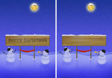 Christmas illustration Stock Photos