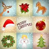 Christmas illustration Royalty Free Stock Image