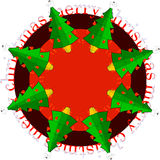 Christmas illustration. Good for your own christmas designs Royalty Free Stock Photography